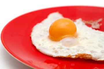frying a frozen egg