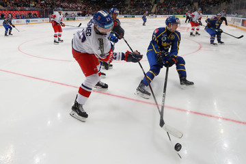 Ice Hockey - Euro Hockey Tour - Channel One Cup - Czech Republic v Sweden