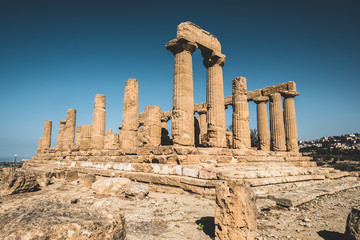 Valley of the temples, Agrigento (Sicily, Italy)