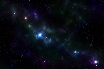Stars night sky texture. Illustration of galaxy background.