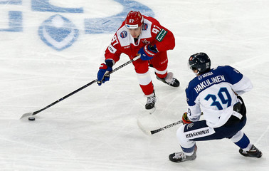 Ice Hockey - Euro Hockey Tour - Channel One Cup - Russia v Finland