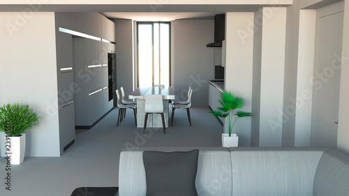 Arredare Le Pareti Della Cucina : Cucina mobili design di interni arredamento della cucina