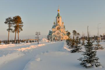 Cathedral of Holy Martyr Tatiana Kogalym, Khanty-Mansi Autonomous region, Russia