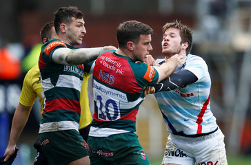 European Rugby Champions Cup - Leicester Tigers v Racing 92