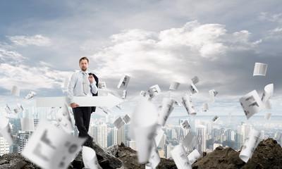 Business startups foundation concept