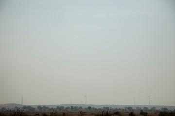 windmills in desert i