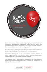 Black Friday Up to 30 Percent Off Special Offer