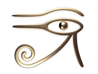 Eye of Horus 3d rendering