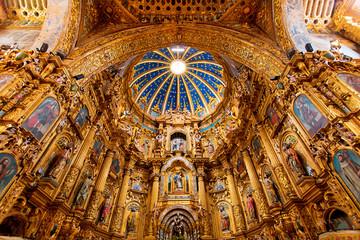 San Francisco Cathedral Quito Ecuador