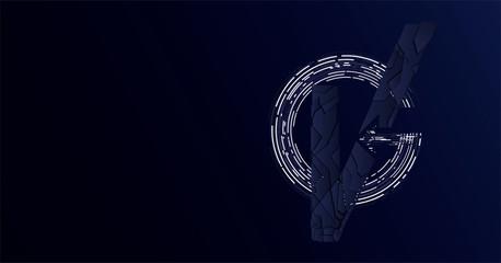 VG monogram in avengers endgame style.