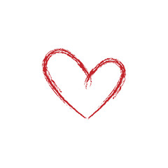 Heart colored icon on white background. Can be used for web, logo, mobile app, UI, UX