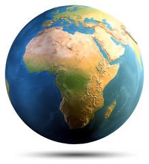 Wall Mural - Planet Earth globe
