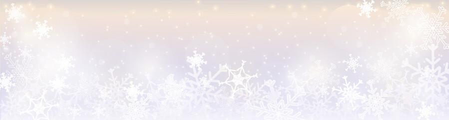 Zimowy baner - winter banner