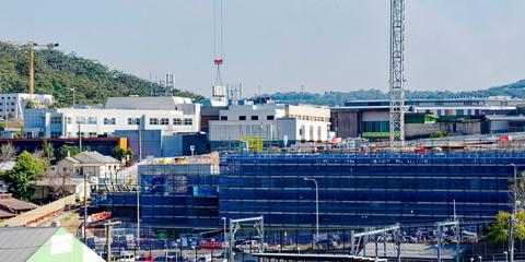 Gosford Hospital building progress update H21ne. AUGUST 2018.