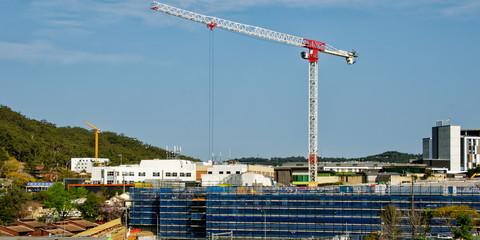 Gosford Hospital building progress H32ene september 2018.