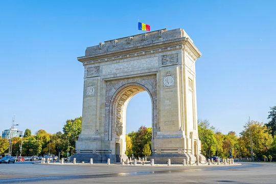 Triumphal Arch in Bucharest 3
