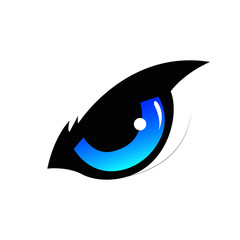 Simple Elegant eye logo Design