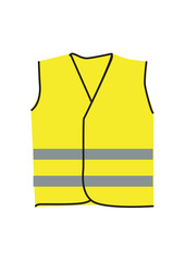 Yellow vests vector