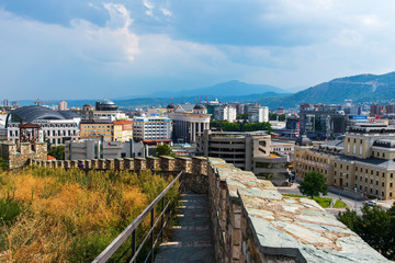 Skopje, the capital city of Macedonia in Europe