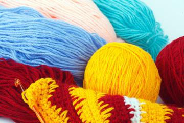 Yarn for knitting warm clothes