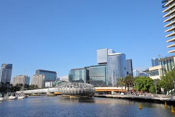 Docklands Cityscape Melbourne Australia