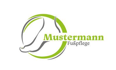 Fußpflege Logo , Fußpflege