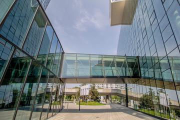 Das Viertel Zwei ist ein modernes Büro- und Wohnviertel im 2. Wiener Gemeindebezirk Leopoldstadt