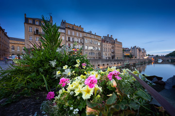 Metz by blue hour
