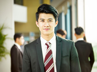 portrait of a young asian business man