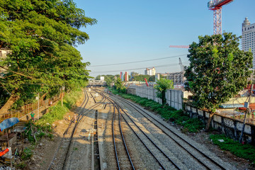 ヤンゴン 線路