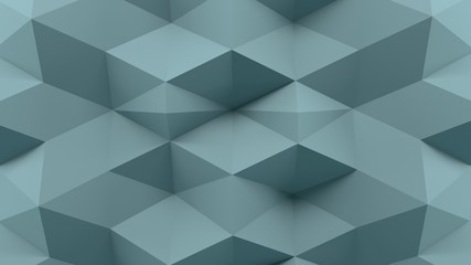Abstract 3D Rendering Blue Background