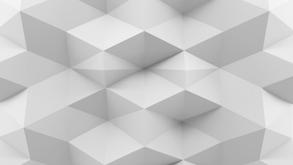 Abstract 3D Rendering Gray Background