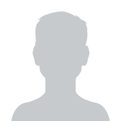 Person gray photo placeholder little boy