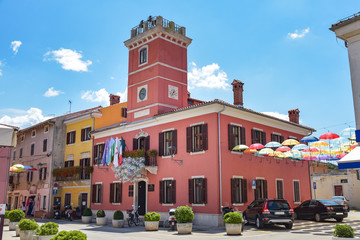 Rathaus in Novigrad / Istrien