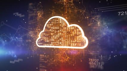 Dazzling Cyber Plazma Cloud CPU