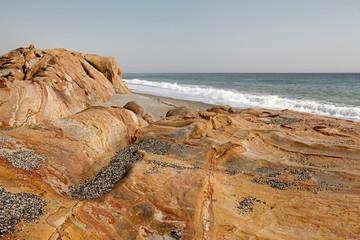 Rocks on the Beach in Costa del Sol