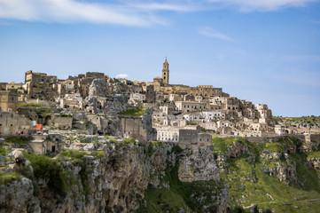 The famous olad city of Matera, Basilicata Italy