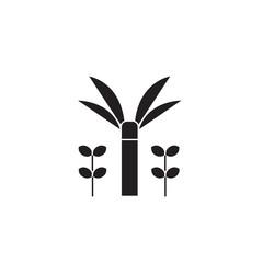 Garden sprinkler black vector concept icon. Garden sprinkler flat illustration, sign, symbol