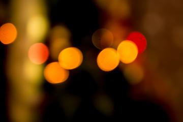 abstract defocused blur lights bokeh background