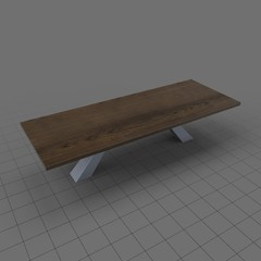 Modern dining table 1