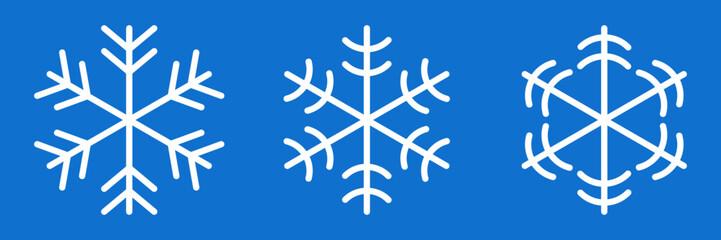 Simple Minimal Flat Snowflakes