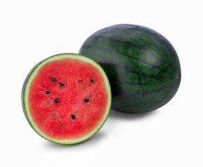 watermelon isolated on white background - Image