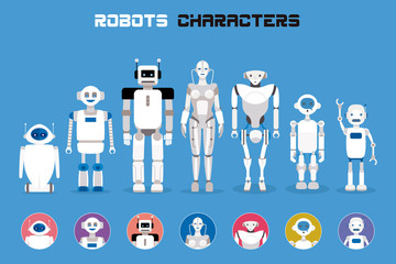 Robots Characters