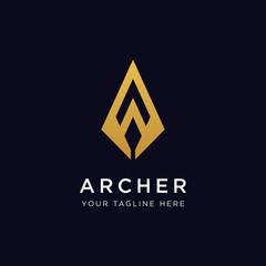 Archer Logo Design Inspiration - Vector