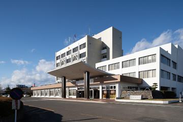 名取市役所 Natori city office,Japan