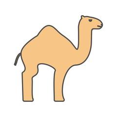 Camel Vector Icon