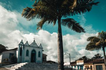 Small chapel in Maceio, Brazil