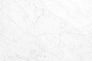 White marble texture in natural pattern for background and design art work.