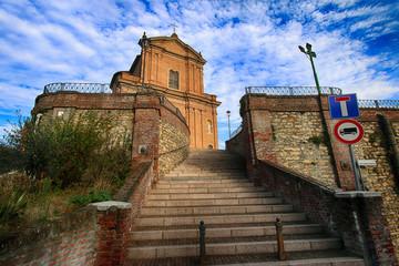 Valle San Bartolomeo (AL) - La chiesa