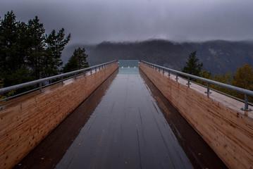 Aussichtsplateu in Norwegen